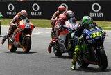 """""""MotoGP"""" lenktynėse Italijoje – vietinių herojų dominavimas"""