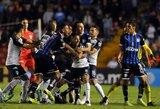 Meksikoje nutrauktos rungtynės dėl įsiplieskusių muštynių