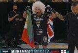 Vienas laukiamiausių debiutų profesionalų MMA narve: M.Mokajevas dominavo prieš varžovą