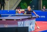 Lietuvos stalo tenisininkai startuoja Europos zonos olimpinės atrankos turnyre