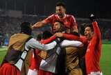 """""""Benfica"""" dar kartą įveikė """"Zenit"""" ir žengė į Čempionų lygos ketvirtfinalį"""