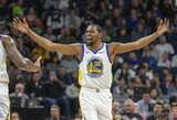 "NBA nubaudė tris ""Warriors"" žvaigždes"