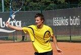 T.Tarasevičius pasinaudojo proga pirmą kartą karjeroje patekti į ATP vienetų reitingą