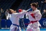 Lietuvos karatė meistrams durys į Tokijo olimpiadą atviros