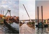 Startuoja finaliniai naujos irklavimo trasos darbai: pradedamas gilinti Lampėdžio ežeras