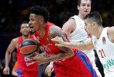 CSKA nesustabdė G.Monroe, bet įsirašė pergalę