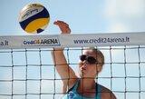 Jaunosios Lietuvos tinklininkės Europos čempionate liko be pergalių