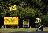 Komandos lyderiu tapęs G.Bagdonas dviračių lenktynėse Prancūzijoje finišavo šeštas