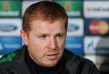 """""""Celtic"""" treneris spaudos konferencijoje atsiliepė į žurnalisto žmonos skambutį"""