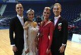 Geriausios Lietuvos šokėjų poros varžėsi prestižinių varžybų Kinijoje finale
