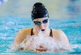 A.Šeleikaitė ir R.Juozelskis pateko į pasaulio jaunimo plaukimo čempionato pusfinalius