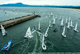Pasaulio buriavimo čempionate sąlygas diktuoja taifūnas, tačiau V.Andrulytė tęsia kovą auksiniame laivyne