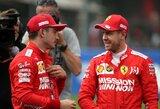 """Teisėjai atėmė """"pole"""" poziciją iš M.Verstappeno, """"Ferrari"""" atiteko dvi pirmos vietos"""