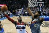"""Namuose paslydęs """"Wizards"""" lyderis J.Wallas be krepšinio praleis net 12 mėnesių"""