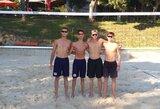 Lietuviai pradeda kovas Europos jaunimo paplūdimio tinklinio čempionatuose