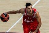 Valensijoje Eurolygos turnyre žaidusiam krepšininkui nustatytas koronavirusas
