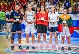 Simboliniame Europos merginų čempionato penkete – dvi lietuvės