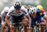 """""""Tour de France"""" etapą laimėjęs pasaulio čempionas nesidžiaugė, nes manė finišavęs trečias"""