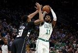 """Per vieną metimą nuo NBA rekordo buvusi """"Celtics"""" įveikė paskutinę nenugalėtą komandą"""