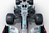 """Šešerius metus nenugalėta """"Mercedes"""" pristatė naują bolidą, L.Hamiltonas pateikė savo verdiktą"""