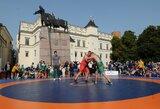 """Praūžė tarptautinis """"Vilnius open"""" imtynių turnyras"""