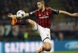 """A.Taarabtas: """"Noriu likti """"Milan"""" klube dar daug metų"""""""