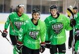"""Sunkiai startavęs """"Kaunas Hockey"""" antroje mačo dalyje susitvarkė su """"Geležiniu Vilku"""""""