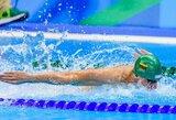 D.Margevičius pagerino Lietuvos rekordą, trys lietuviai nepateko į pusfinalius