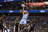 Vašingtone: rezultatyvus J.Valančiūnas ir kieta lietuvio pražanga prieš NBA žvaigždę