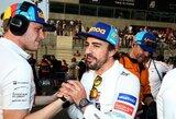 """""""Formulę 1"""" palikęs F.Alonso: """"Tokio atsisveikinimo nesulaukė net M.Schumacheris"""""""