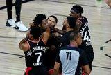 NBA čempionai su sirena išplėšė pirmąją pergalę pusfinalyje