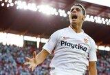 """""""Sevilla"""" Ispanijos čempionate nutraukė dviejų pralaimėjimų seriją išvykoje pažemindama """"Levante"""""""