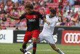 """""""Benfica"""" rezultatyviame mače sutriuškino """"Real"""" klubą (kiti rezultatai)"""