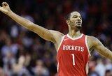 """NBA suspendavo du """"Rockets"""" žaidėjus, komanda šokiruota lygos sprendimu"""