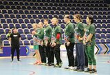 Lietuvos golbolo vyrai – tarptautinio Trakų turnyro finale, jaunimas kovos dėl bronzos