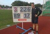 E.Matusevičius keliauja į Tokijo olimpiadą: ietis skriejo beveik 90 metrų! (papildyta)