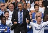 J.Mourinho pergalingą įvartį šventė kartu su sirgaliais