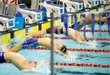 Lietuvos plaukimo čempionate daugiausiai aukso medalių iškovojo latvė