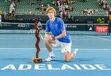 """ATP turnyro Australijoje finale – A.Rubliovo """"riestainis"""" varžovui"""
