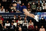 Kinijos pora aplenkė rusus ir su nauju pasaulio rekordu iškovojo auksą