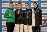 Turkijoje – pirmasis K.Tvaronavičiūtės sezono trofėjus