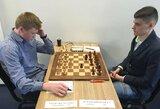 Lietuvos vyrų šachmatų rinktinė olimpiadoje įveikė australus