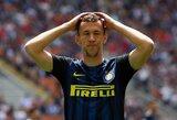 """Pridėto laiko metu baudinį užsidirbę """"Inter"""" paskutinę akimirką išleido pergalę iš rankų"""