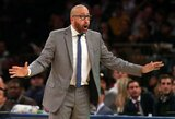 """K.Porzingis nuotrauka paneigė """"Knicks"""" komandos trenerio pasisakymą apie jo progresą"""