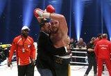 Antrasis dublis: T.Fury pusbrolis kovos dėl pasaulio sunkiasvorių bokso čempiono diržo
