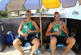 A.Rumševičius ir L.Každailis Irane tęsia įspūdingą pasirodymą ir žengė į ketvirtfinalį