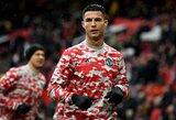 """G.Neville'as pakomentavo C.Ronaldo išėjimą iš aikštės po lygiųjų su """"Everton"""""""