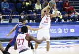 """Ilgiausiai komandoje žaidęs M.Kuzminskas buvo ir rezultatyviausias, M.Kalnietis dalino perdavimus, tačiau """"Lokomotiv-Kuban"""" patyrė pralaimėjimą"""
