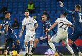 """Dešimtyje rungtyniauti likęs """"Arsenal"""" susitikimą su """"Leeds Utd"""" baigė nulinėmis lygiosiomis"""
