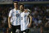 Bręsta skandalas? Izraelis pyksta dėl atšauktų draugiškų rungtynių ir sieks, kad Argentina būtų pašalinta iš pasaulio čempionato